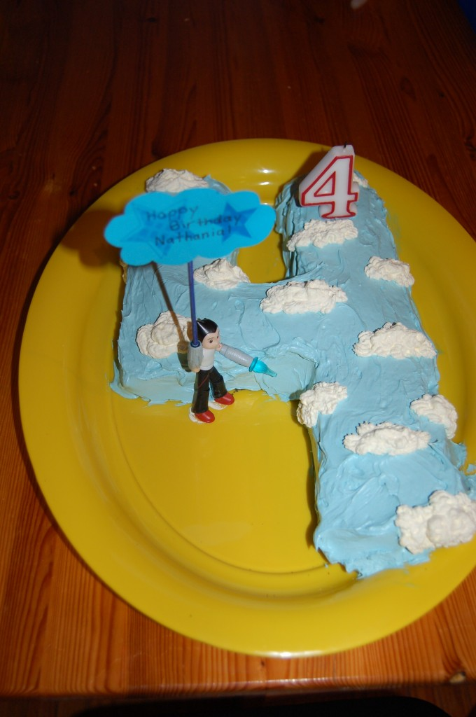 AstroBoy cake.