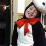 Cam as Cat in the Hat (for the second year).