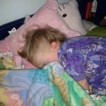 Sleeping like a baby. :-)